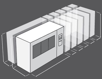 Korózna komora Ascott CorroFlex - rozmery je možné prispôsobiť